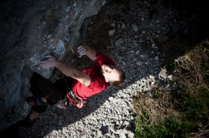 On the shake out before the crux