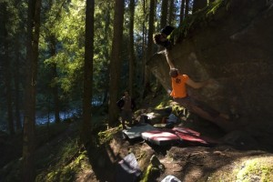 Just latching the top hold on the 7c+/8a