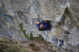 "Matt on ""Hummin' Bird"" F7b+"