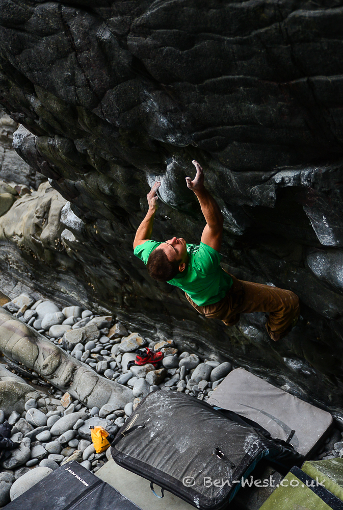 Steve firing up the cannons on Carnage 7b